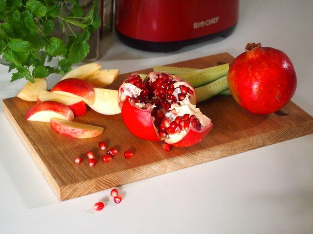 Pinkk granaattiomenamehu / Wellberries